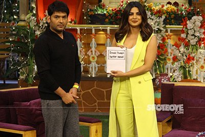 priyanka chopra on comedy nights with kapil