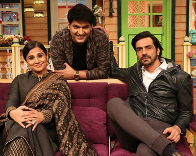 vidya balan on the kapil sharma show