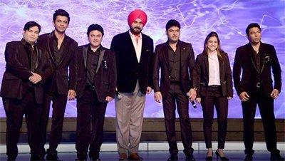the kapil sharma show team
