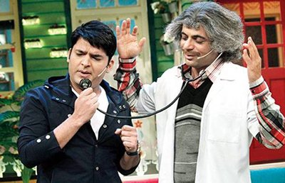 kapil sharma and sunil grover in the kapil sharma show