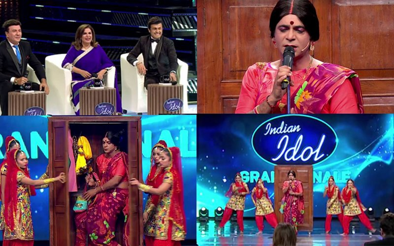 WATCH: Sunil Grover Aka Rinku Bhabhi Killing It At Indian Idol 9 Grand Finale