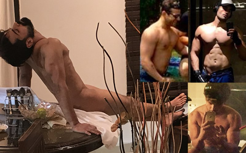 TV Hunk Shravan Reddy Goes NUDE & Karan Patel, Karan Tacker, Kushal Tandon  Go Shirtless