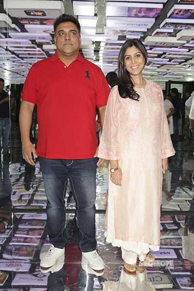 ram and sakshi at the event