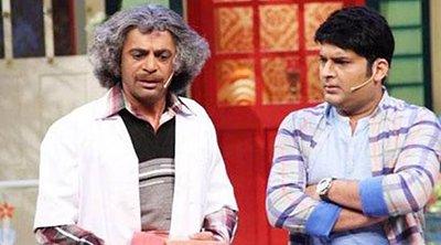 sunil grover and kapil sharma on show