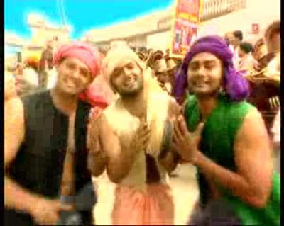 kapil sharma in a music video