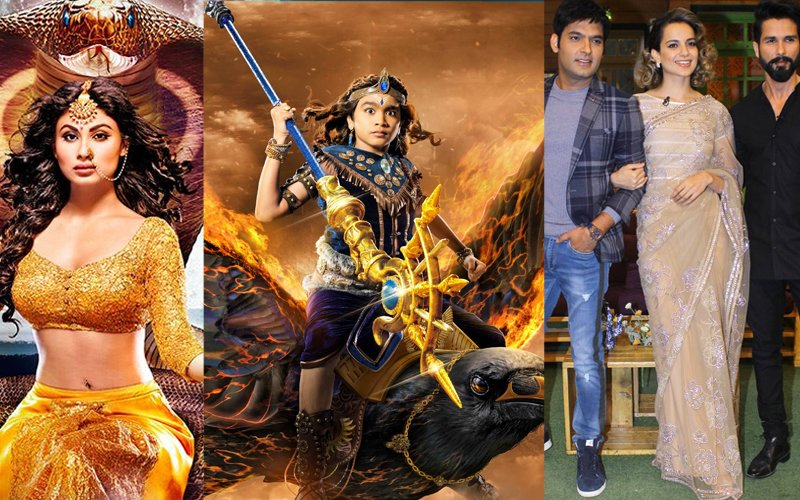 Colors On A High: Shani  Is No.3, Naagin Continues To Reign