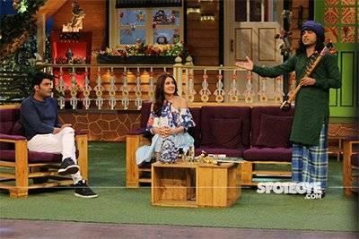 anushka sharma promoting phillauri on the kapil sharma show