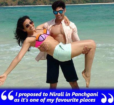ruslaan and nirali tv couple wedding anniversary on valentines day