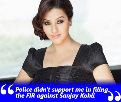 shilpa shinde exclusive interview police didnt support me when was filing the sexual haressment complain against sanjay kholi