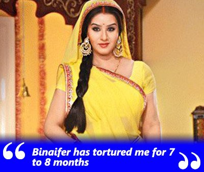 shilpa shinde exclusive interview binaifer tortured me for months on bhabhiji