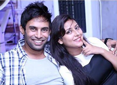 rahul raj singh and pratyusha banerjee during happier times