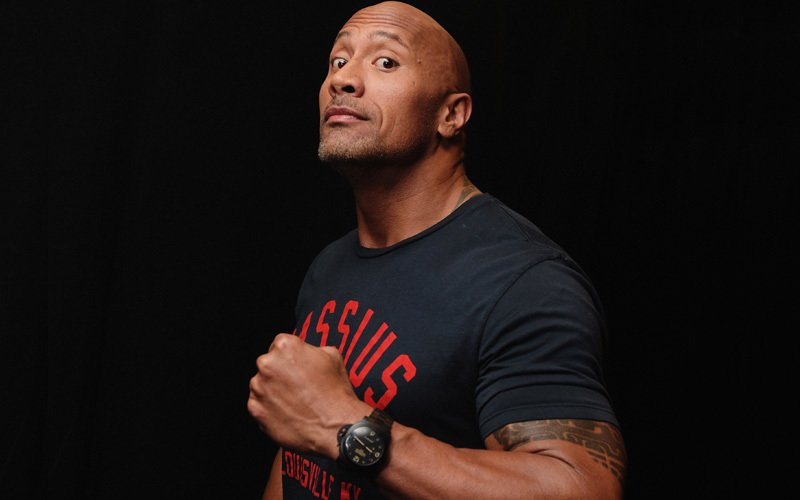 The Rock announces a musical project