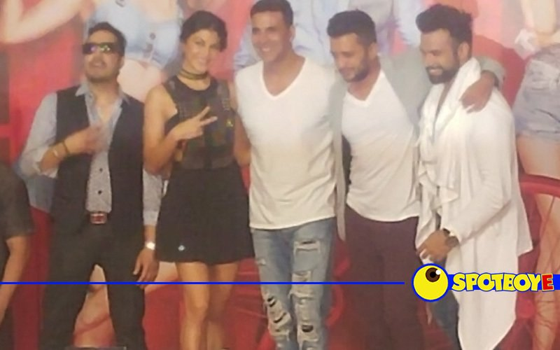 Akshay, Jacqueline, Ritesh dance at Housefull 3 song launch  to the popular track, Tang Utha Ke