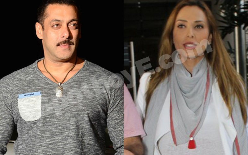 Salman's dinner date with Iulia