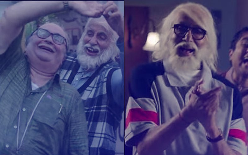 102 Not Out Teaser: Amitabh Bachchan & Rishi Kapoor's Chemistry As Father-Son Is Delightful