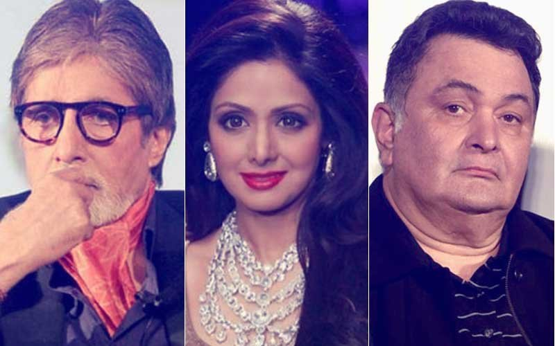 अलविदा श्रीदेवी: अमिताभ बच्चन और ऋषि कपूर ने कैंसिल किया फिल्म '102 नॉट आउट' का शूट