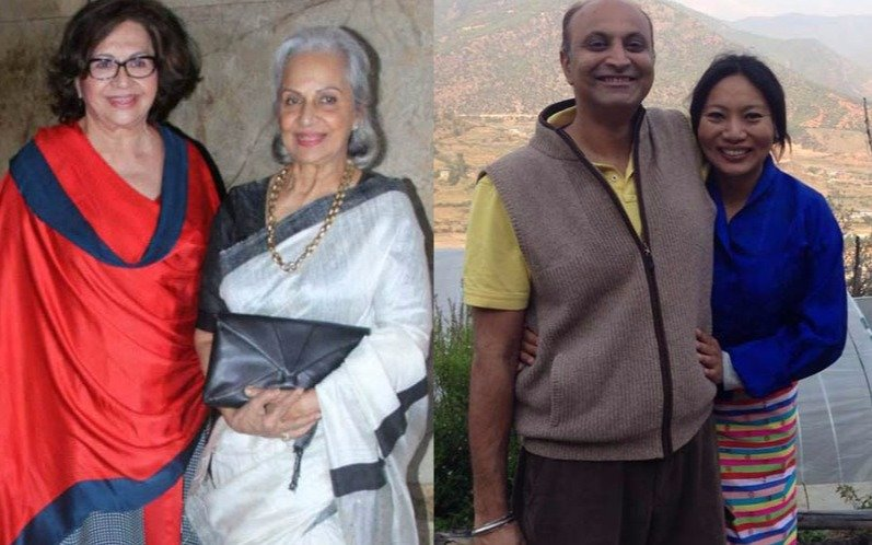 Waheeda Rehman, elegant and graceful at 76
