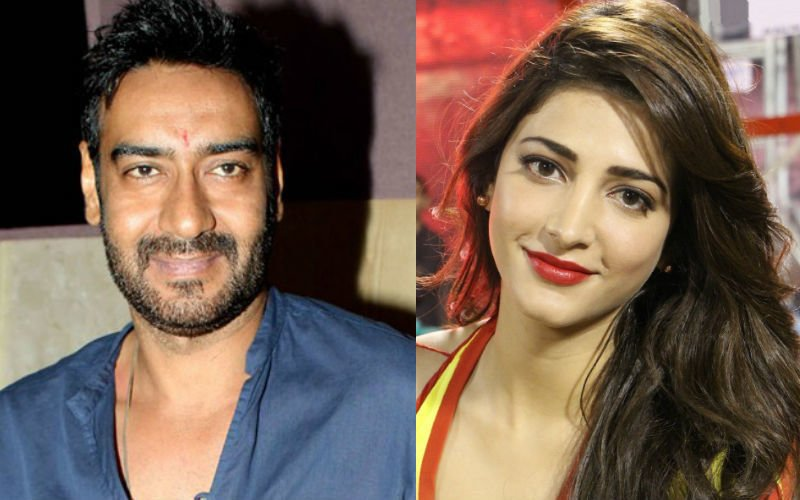 Ajay-Shruti To Team Up For The First Time In Baadshaho