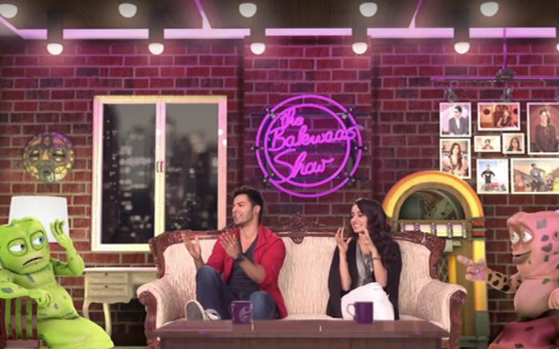Varun Dhawan & Shraddha Kapoor | The Bakwaas Show | ABCD 2