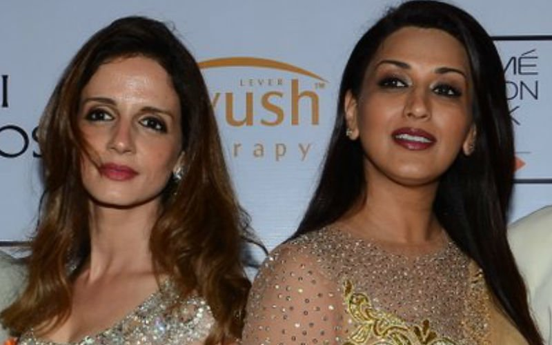Sonali Bendre Ignores Hrithik's Ex-Wife Sussanne