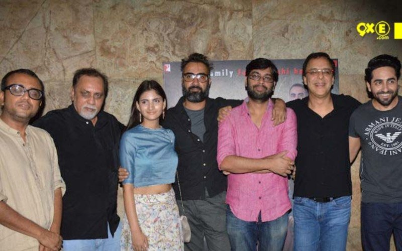 Team 'Titli' Spotted At The Special Screening Of Their Film