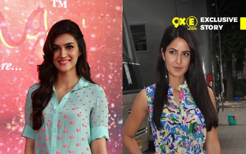 Kriti Sanon Replaces Katrina Kaif In Ekta Kapoor's Half Girlfriend