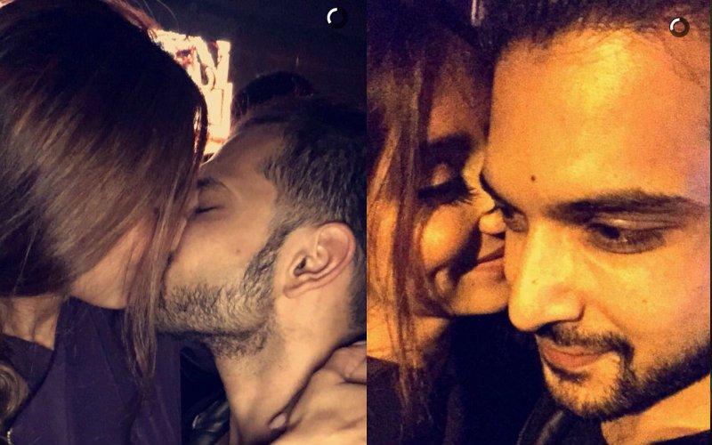 Caught! Karan Kundra Kissing VJ Anusha Dandekar