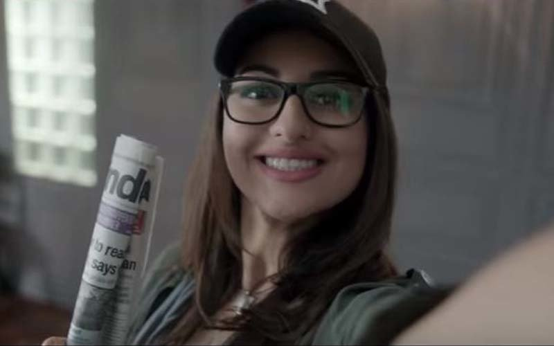 Sonakshi Sinha offers a sneak-peek into her journalist avatar