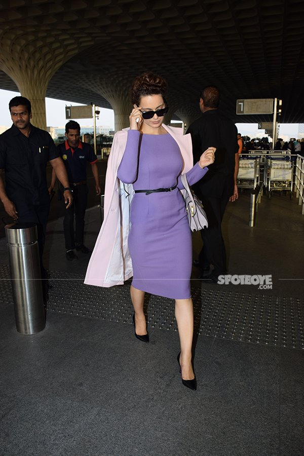 kangana rananut took off to an undisclosed destination
