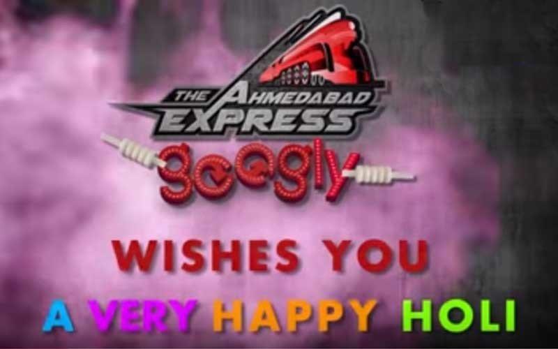 Team Ahmedabad Express wishes a colourful Holi
