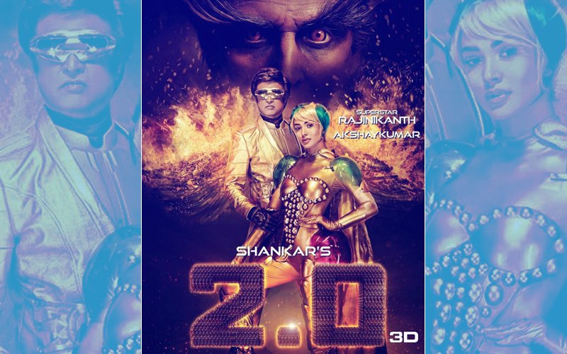 Robot 2.0 New Poster: Akshay Kumar, Rajinikanth & Amy Jackson's Robot Versions Are Awesome!