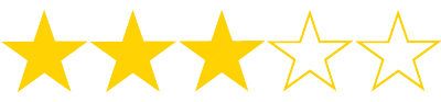 3 stars ratings for movies
