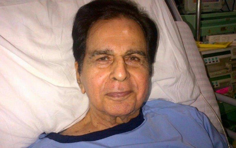 Dilip Kumar hospitalised