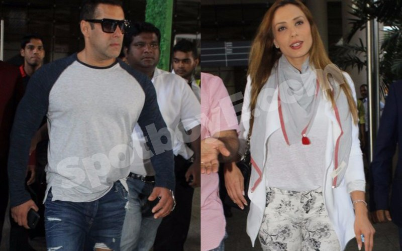 Just In: Salman Khan back home with Iulia by his side