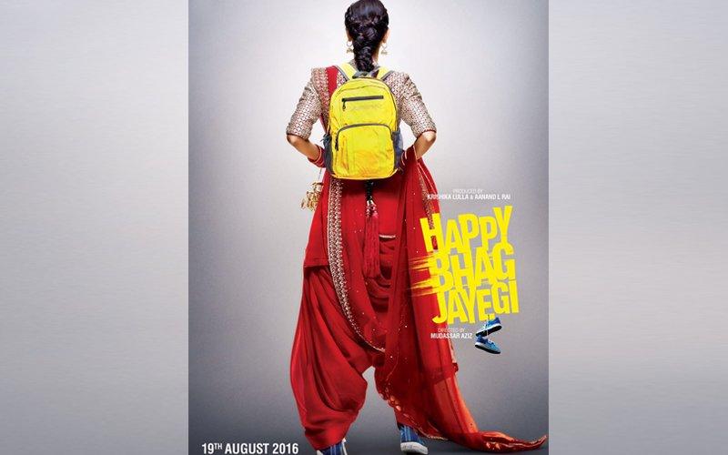 Is Diana Penty a runaway bride in Happy Bhag Jayegi?