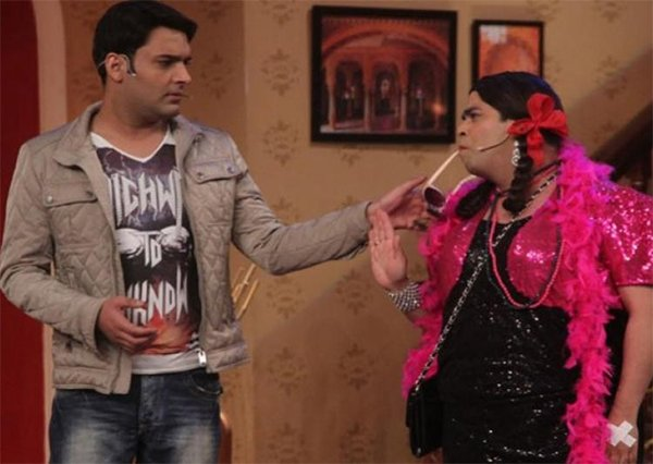 kapil sharma with kiku