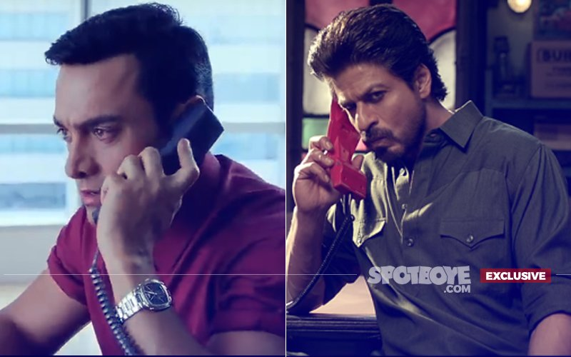 Shah Rukh Gets An SOS CALL From Aamir, And This Is Why His Number Was Dialled