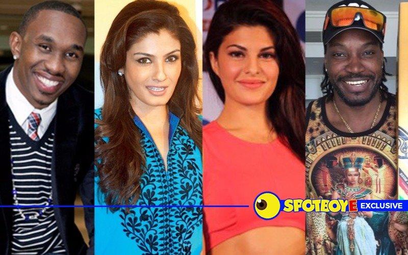 Bravo-Raveena, Gayle-Jacqueline in The Kapil Sharma Show