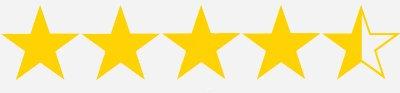 four and half stars