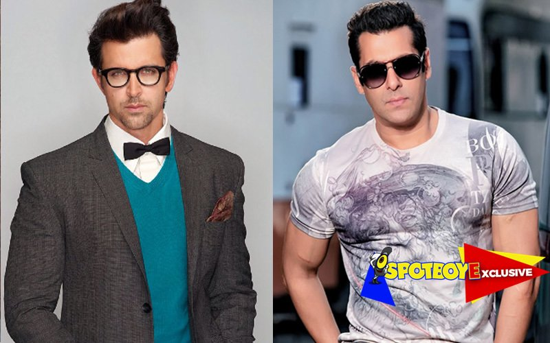 Hrithik steps into Salman's shoes