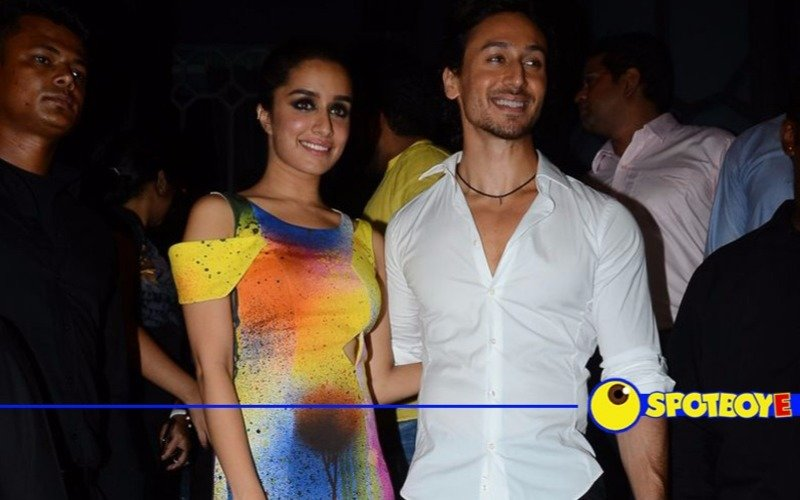 A grand bash for Baaghi's success