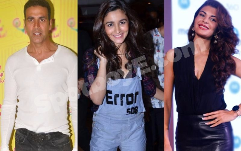 Friendship Day Special: Akshay, Alia &  Jacqueline celebrate with their besties
