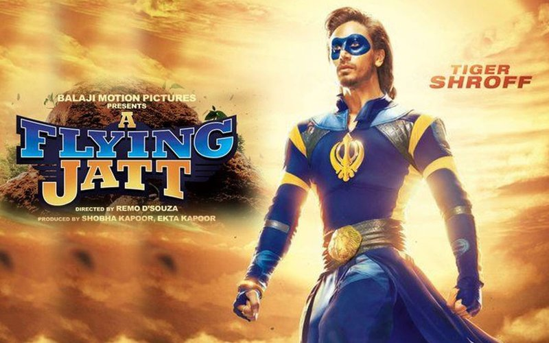 Tiger Shroff is an unconventional superhero in A Flying Jatt