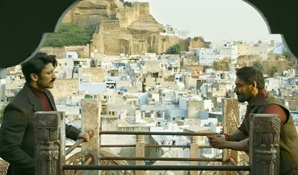 vidyut jammwal and ajay devgn in baadshaho