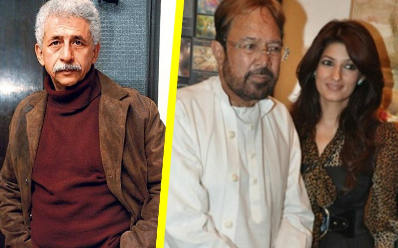 Twinkle Khanna blasts Naseeruddin Shah for talking ill about Rajesh Khanna