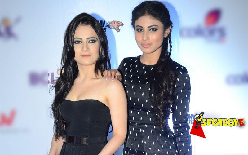 Mouni Roy and Radhika Madan are completely twinning