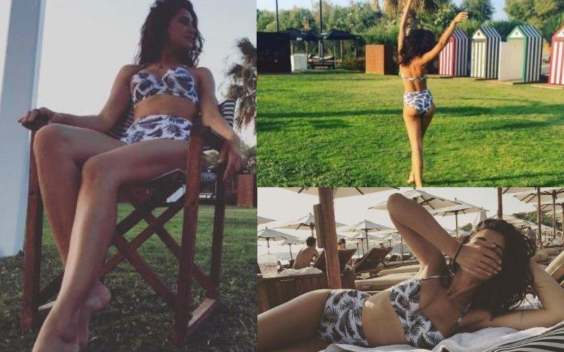 The bikini is Nargis' best friend