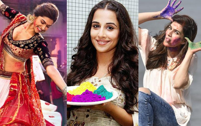 Holi Special: Deepika, Vidya, Kriti share their favourite memories of the festival