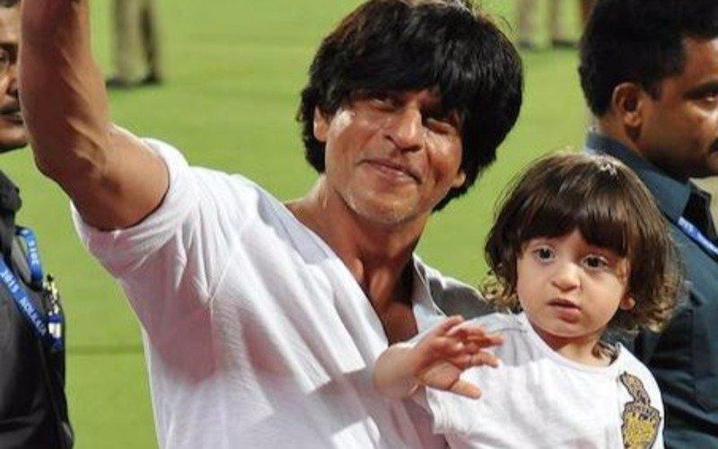 SRK-AbRam spit water on each other