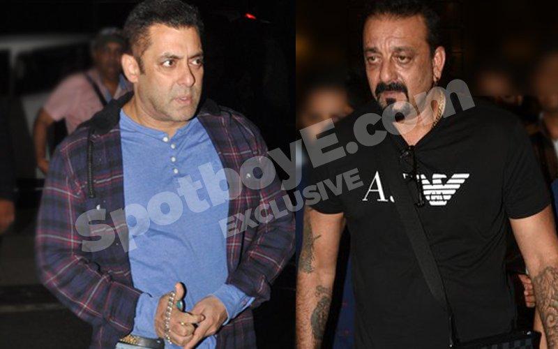 Salman & Sanjay had a major face-off in Madrid!